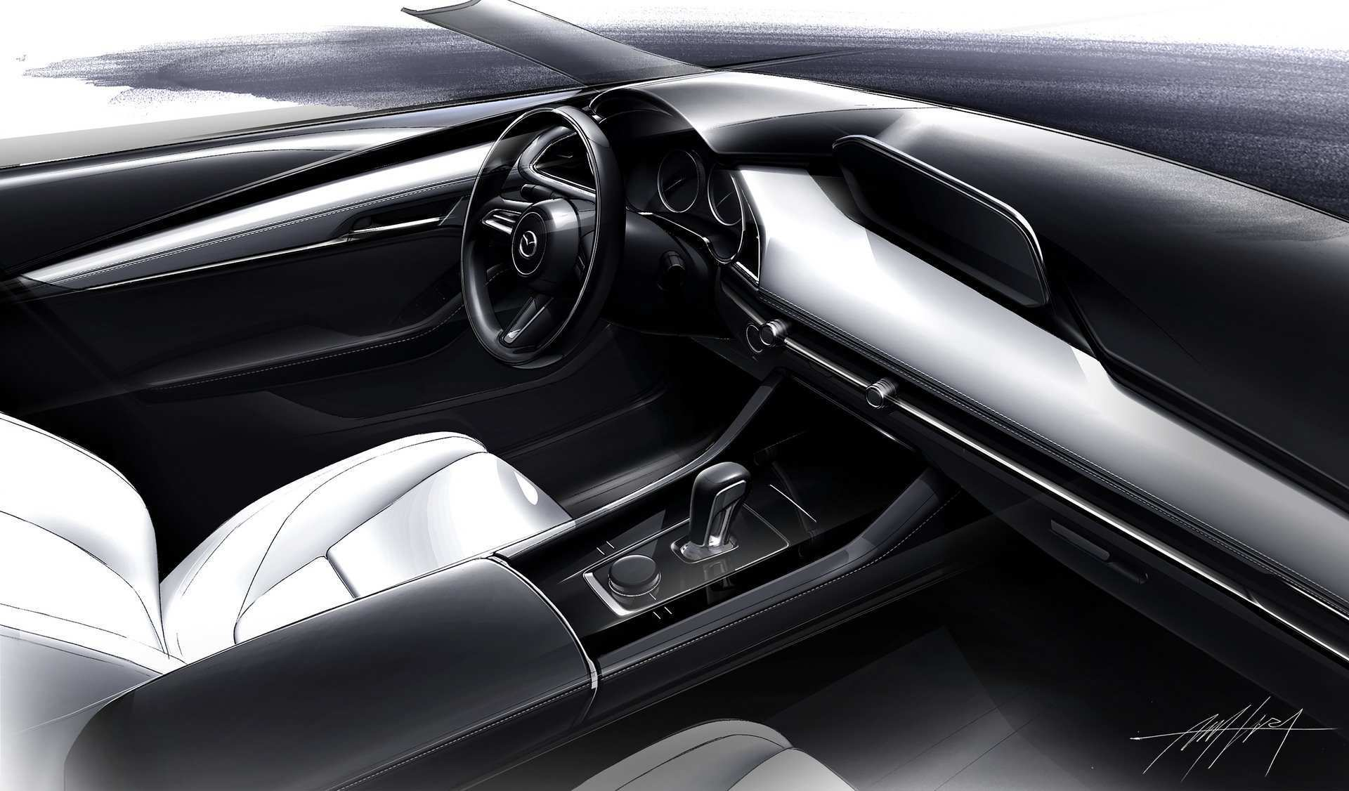 25 A Mazda 3 2019 Interior Wallpaper