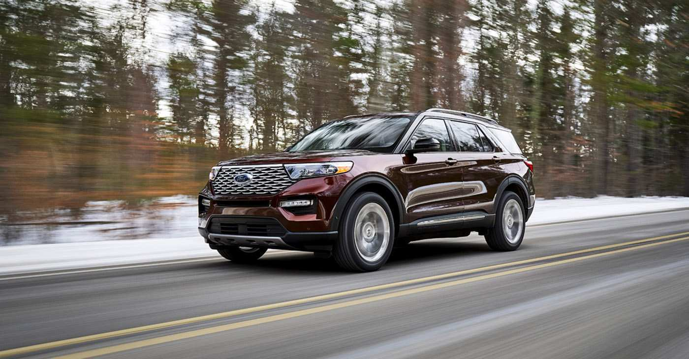 25 All New 2020 Ford Explorer Job 1 Research New