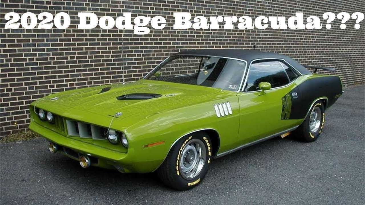 25 All New 2020 Plymouth Barracuda Spesification
