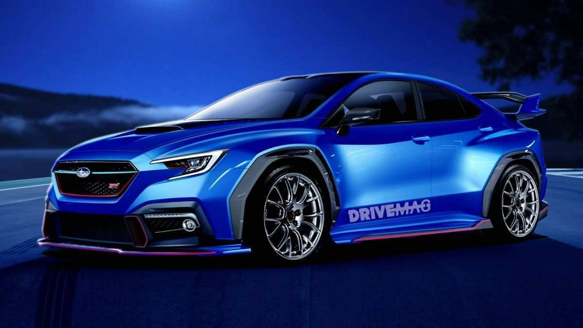 25 All New 2020 Subaru Brz Sti Turbo Concept And Review
