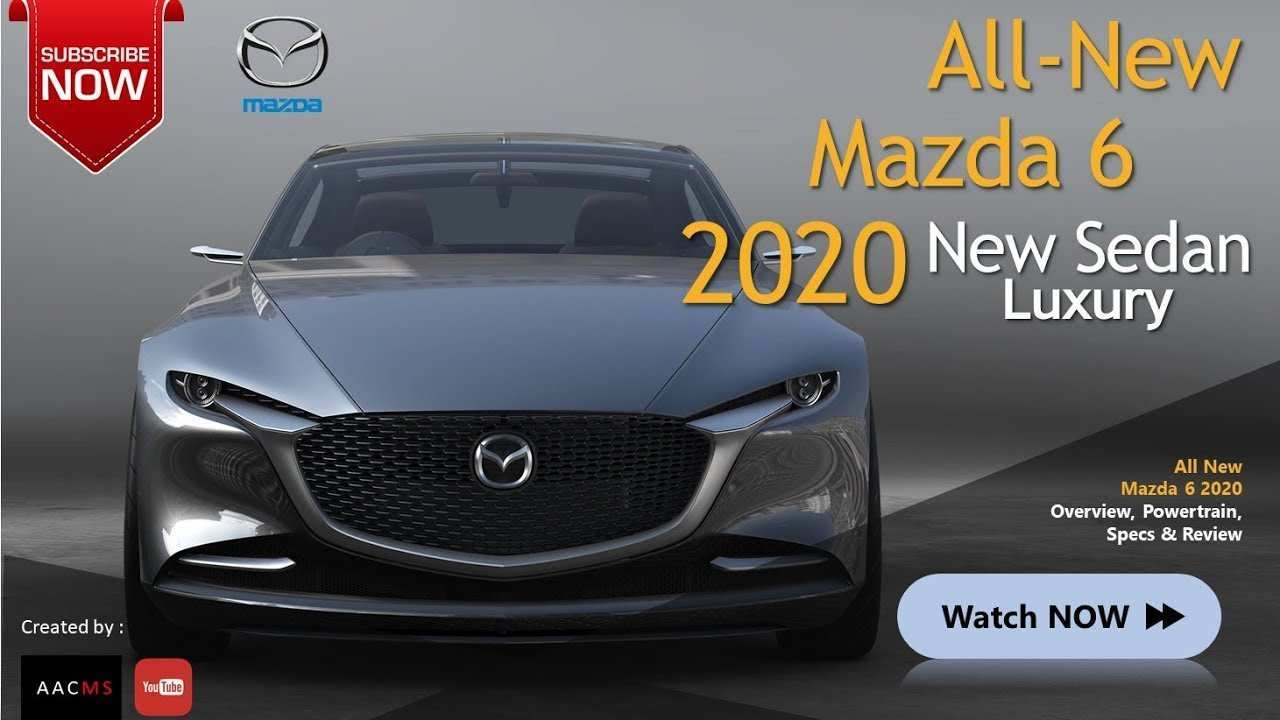 25 All New Youtube Mazda 6 2020 Redesign And Review