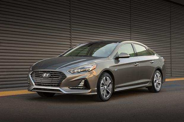 25 New 2019 Hyundai Sonata Hybrid Spy Shoot