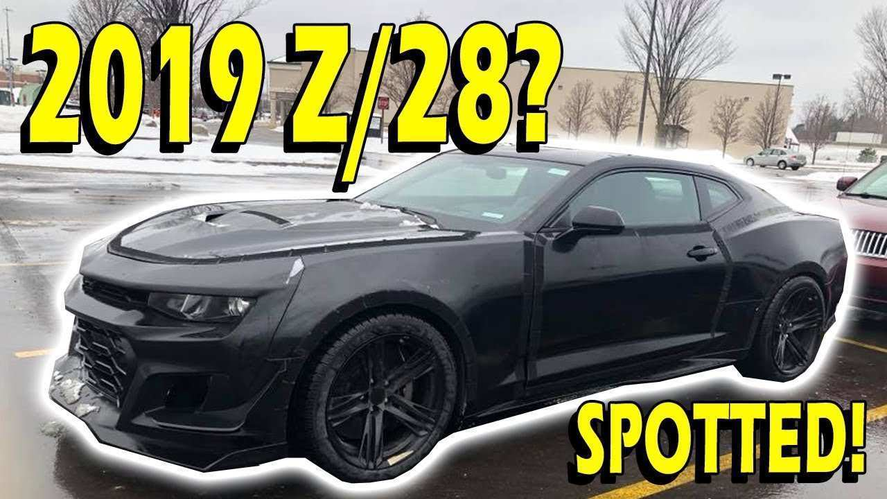 25 New 2020 Chevrolet Camaro Z28 Performance And New Engine