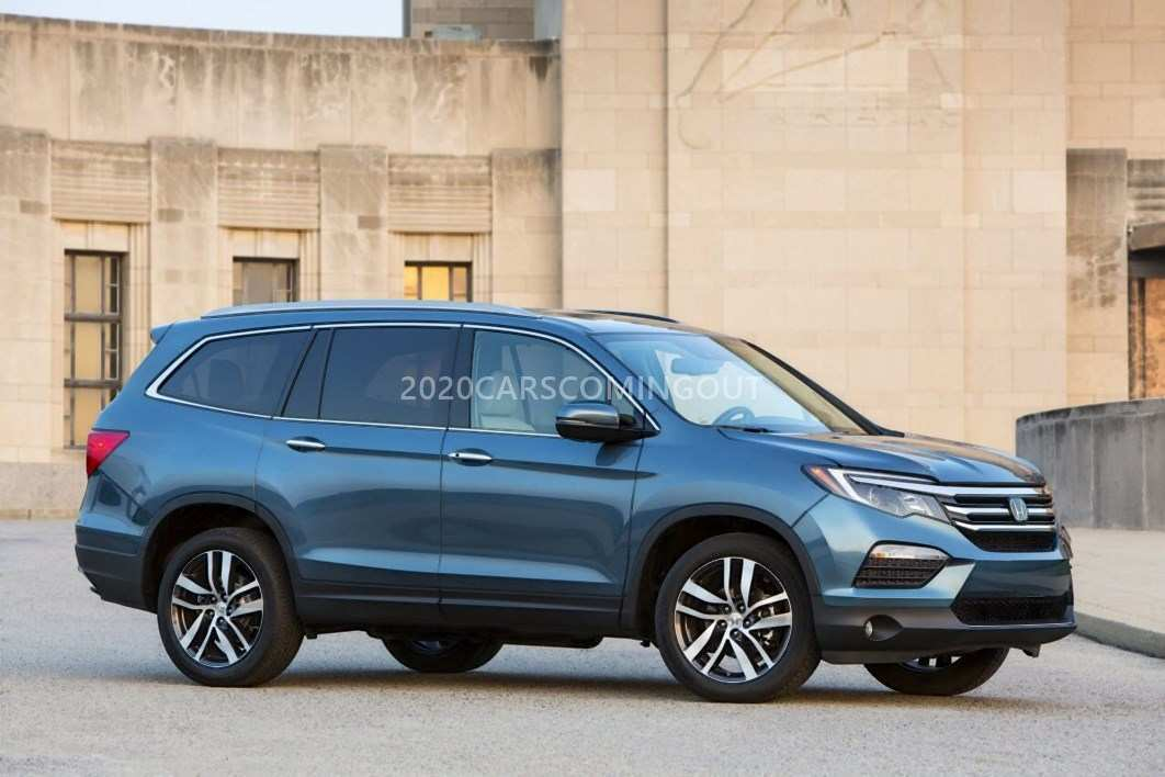 25 New 2020 Honda Pilot Spy Photos Price Design And Review