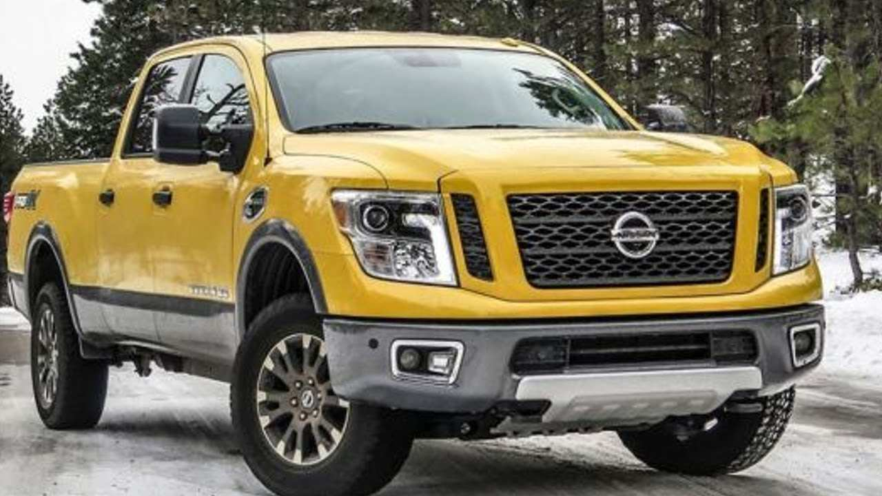 25 New 2020 Nissan Titan Rumors