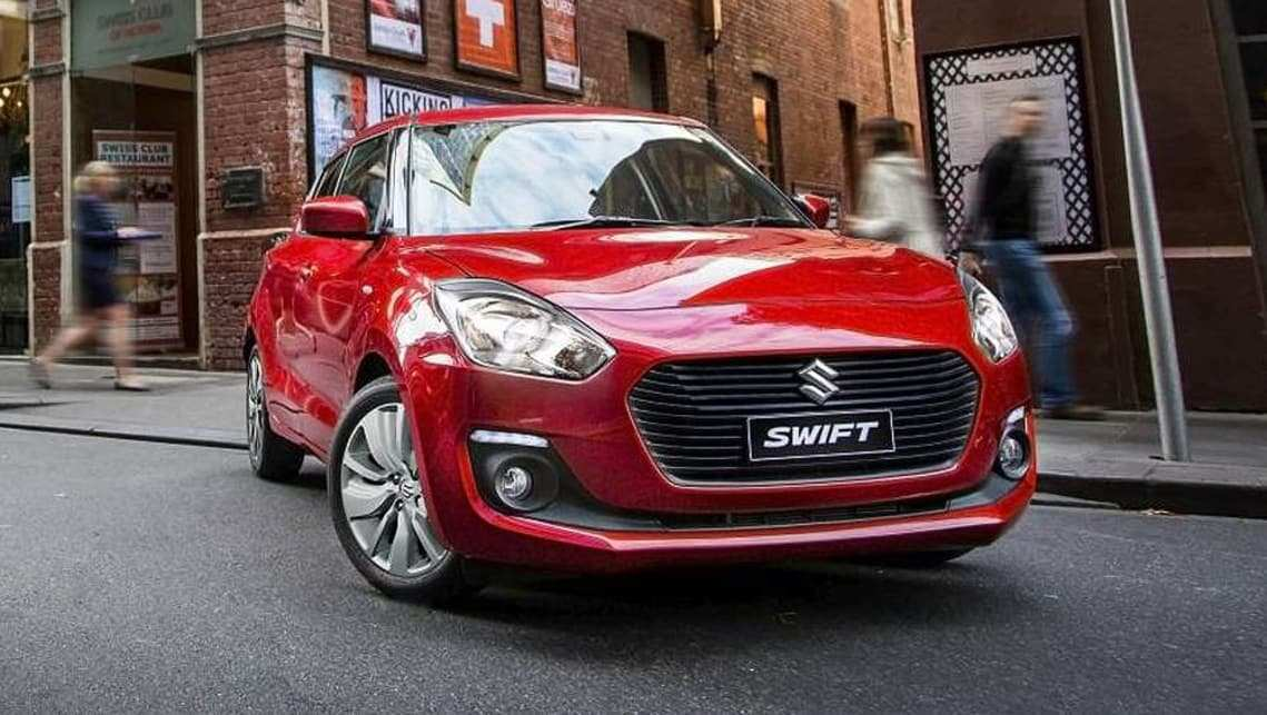 25 The 2019 Suzuki Swift Spy Shoot
