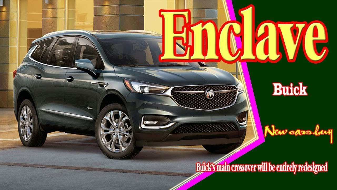 25 The 2020 Buick Enclave Exterior And Interior