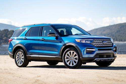 25 The 2020 Ford Explorer Sports Performance
