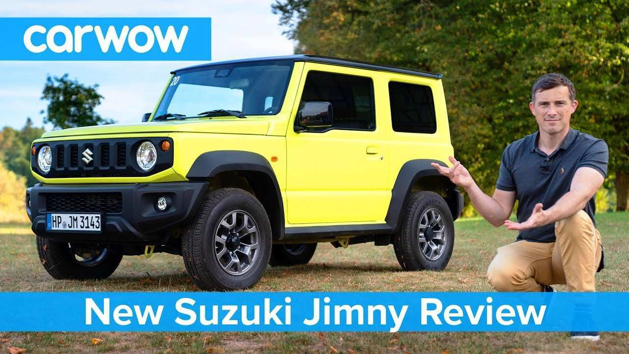 25 The 2020 Suzuki Jimny Exterior