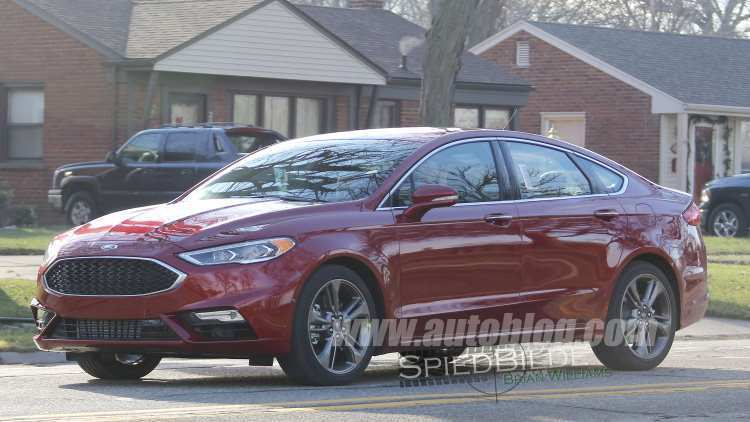 25 The 2020 The Spy Shots Ford Fusion Price And Review