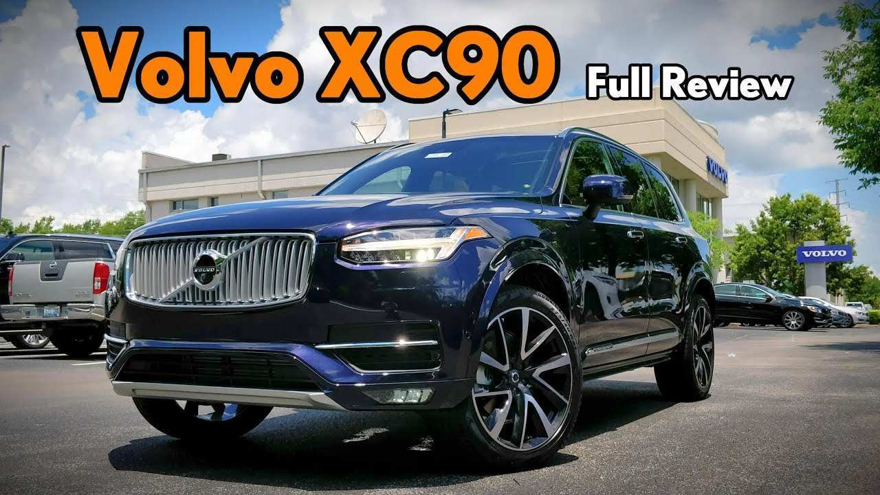 25 The Volvo Xc90 Facelift 2019 Review And Release Date