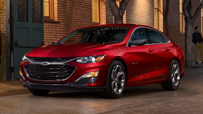 26 A 2020 Chevrolet Malibu Wallpaper
