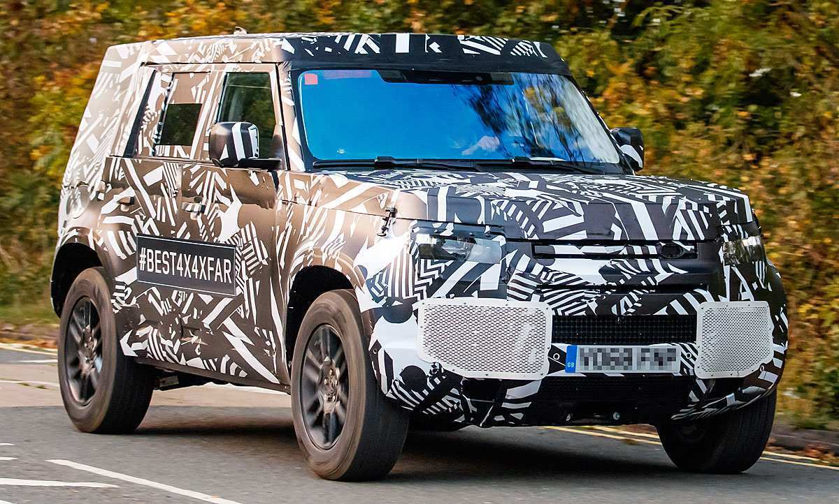 26 A 2020 Land Rover Defender Specs