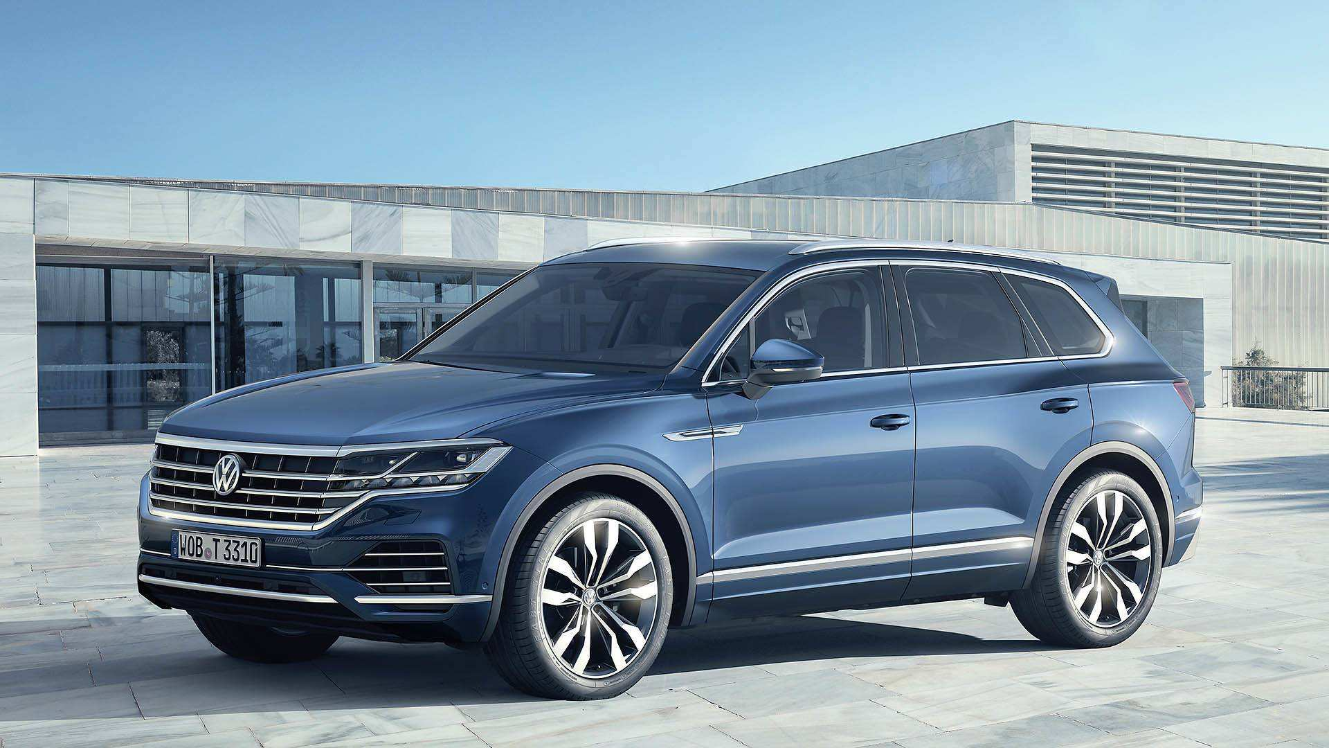 26 A Volkswagen 2019 Touareg Price Exterior And Interior