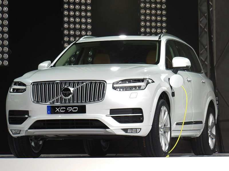 26 A Volvo To Go Electric By 2019 Wallpaper