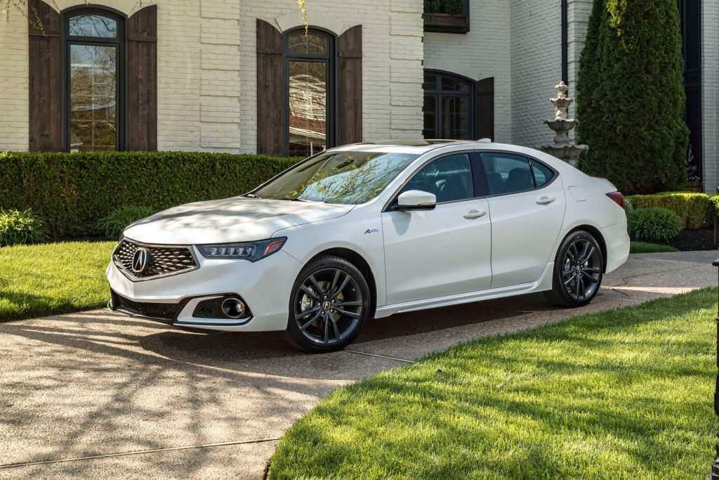 26 All New 2019 Acura Tl Spy Shoot