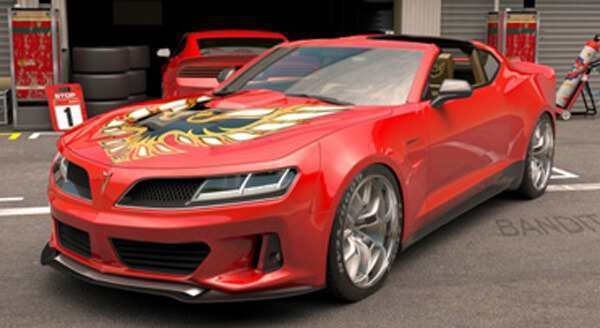 26 All New 2019 Pontiac Firebird Trans Am Spy Shoot