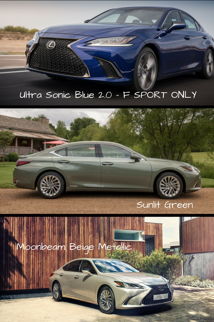 26 All New Lexus 2019 Colors Speed Test