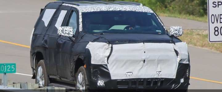 26 Best What Will The 2020 Chevrolet Tahoe Look Like Spy Shoot