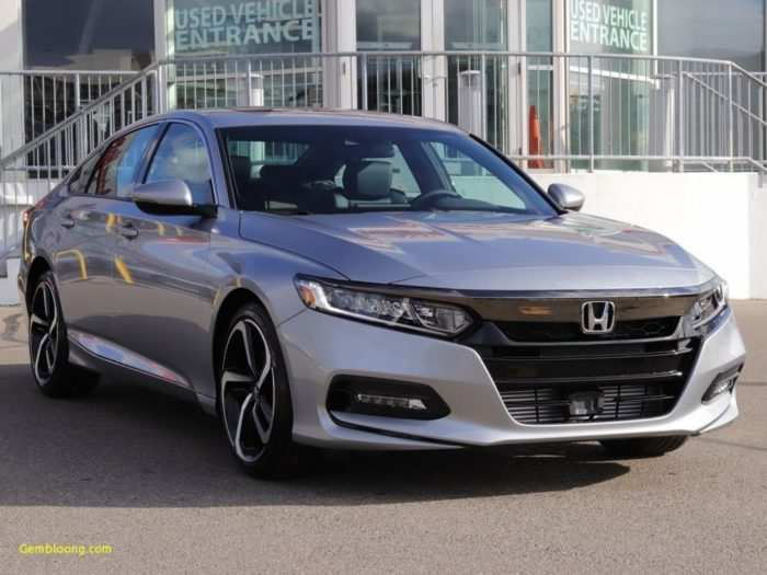 26 New 2019 Honda Accord Spirior Review And Release Date
