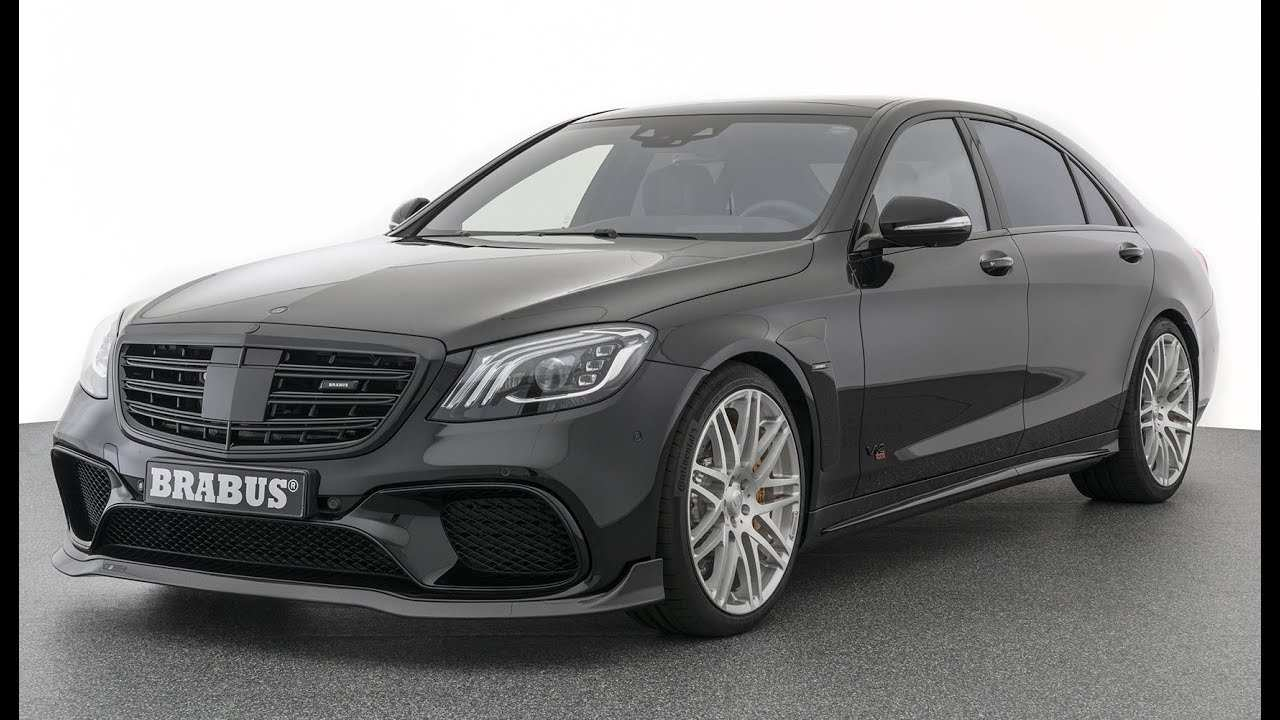 26 New Mercedes Brabus 2019 Redesign And Review