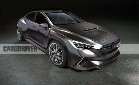 26 New Subaru Turbo 2020 Exterior
