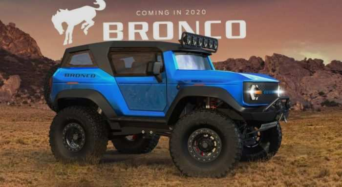 26 The 2019 Ford Svt Bronco Raptor Model