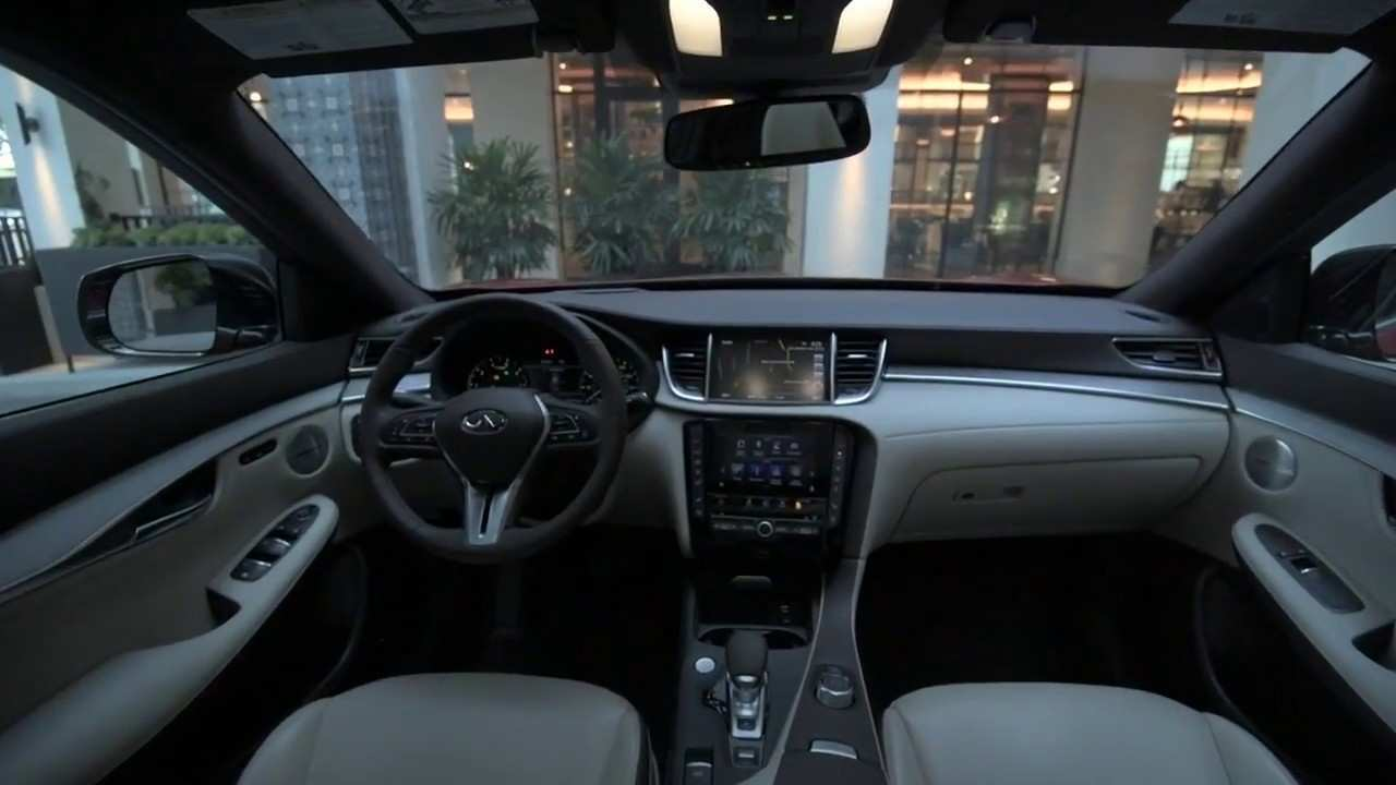 26 The 2019 Infiniti Qx50 Luxe Interior Spy Shoot