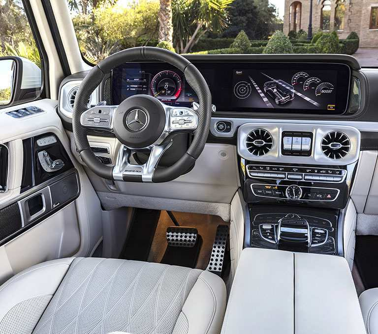26 The 2019 Mercedes Benz GLK Interior