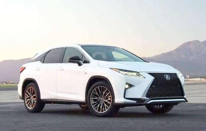 26 The Best 2019 Lexus Rx 350 F Sport Suv Concept And Review