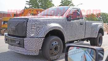 27 A 2019 Spy Shots Ford F350 Diesel Style