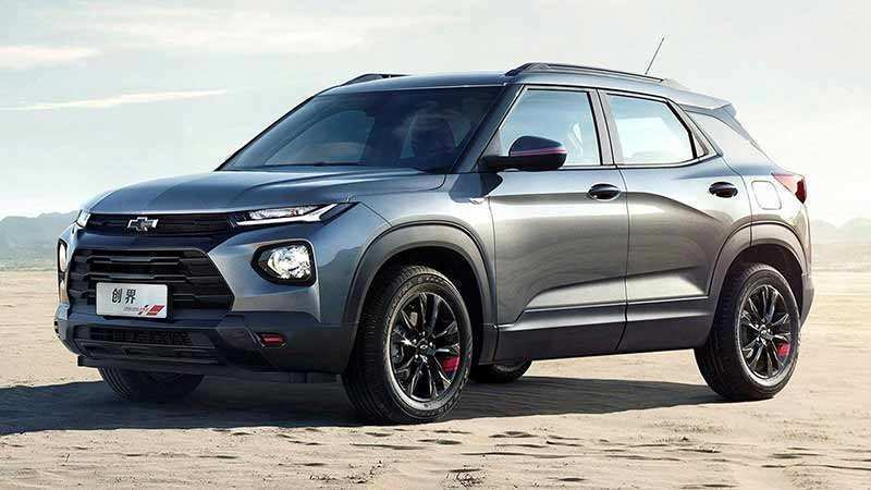 27 A 2020 Chevy Blazer Spy Shoot