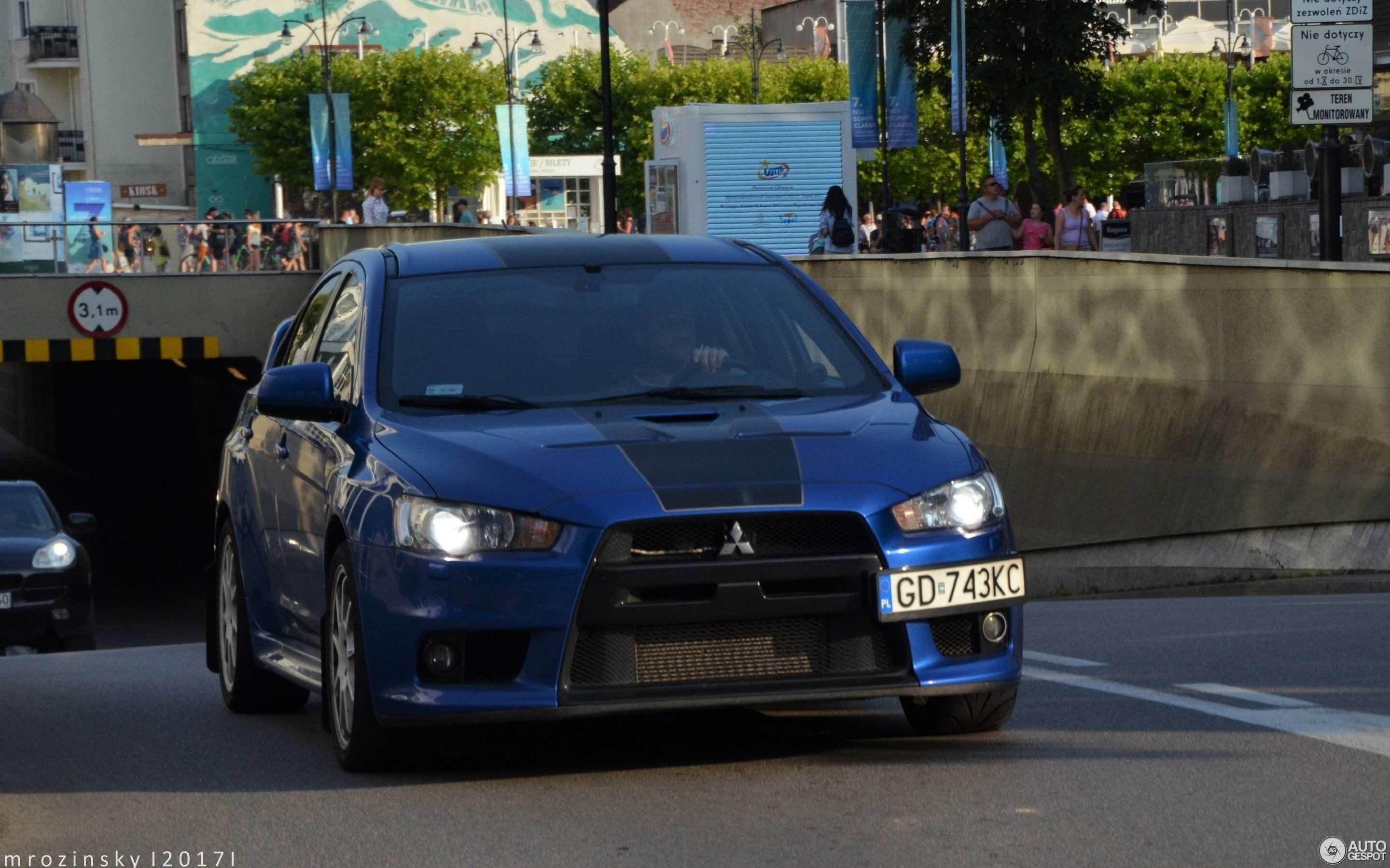 27 A 2020 Mitsubishi Lancer EVO XI Speed Test