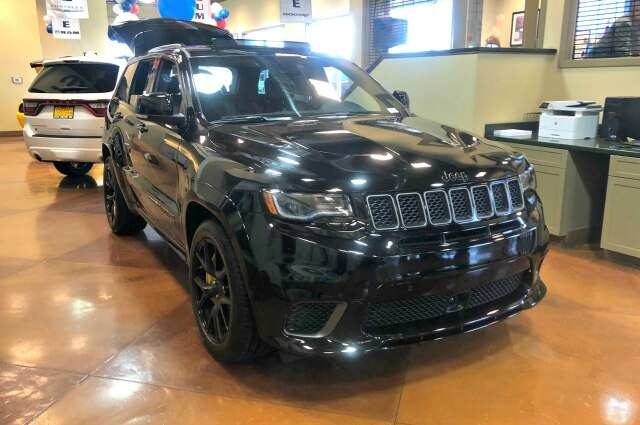 27 All New 2019 Jeep Grand Cherokee Trackhawk Speed Test
