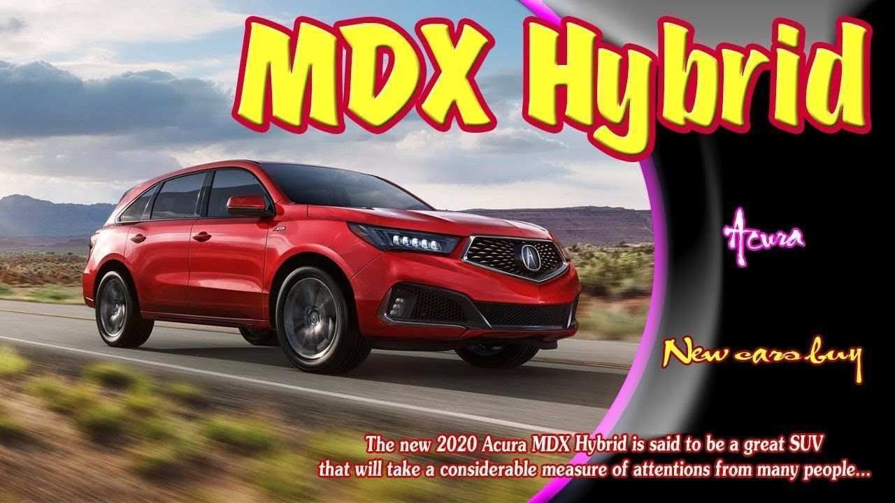 27 All New 2020 Acura Mdx Rumors Price And Review