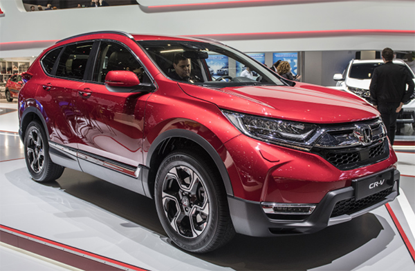 27 All New 2020 Honda CR V Exterior