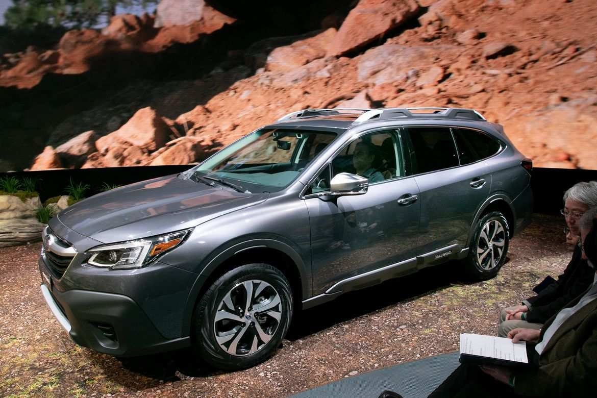 27 All New 2020 Subaru Outback Photos New Model And Performance