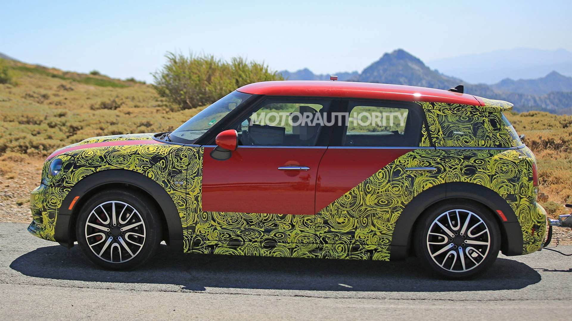27 All New Spy Shots Mini Countryman Style