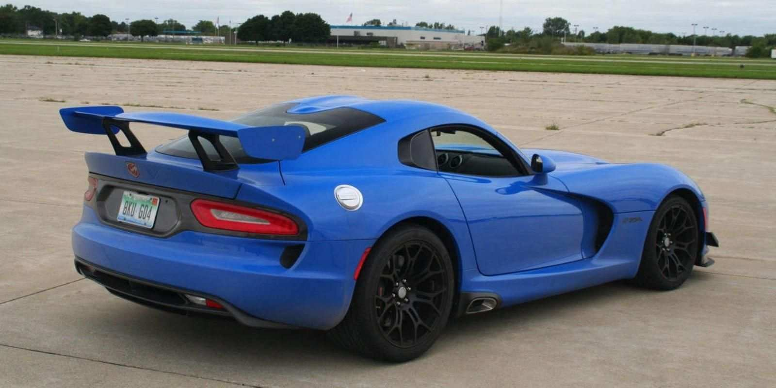 27 New 2019 Dodge Viper ACR Research New
