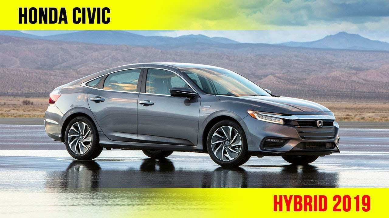 27 New 2019 Honda Civic Hybrid Wallpaper