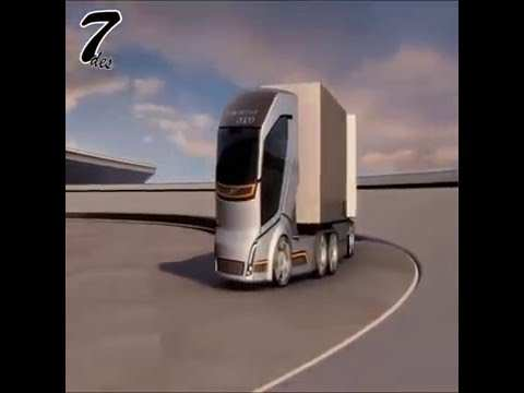 27 New Volvo Trucks Vision 2020 Spy Shoot