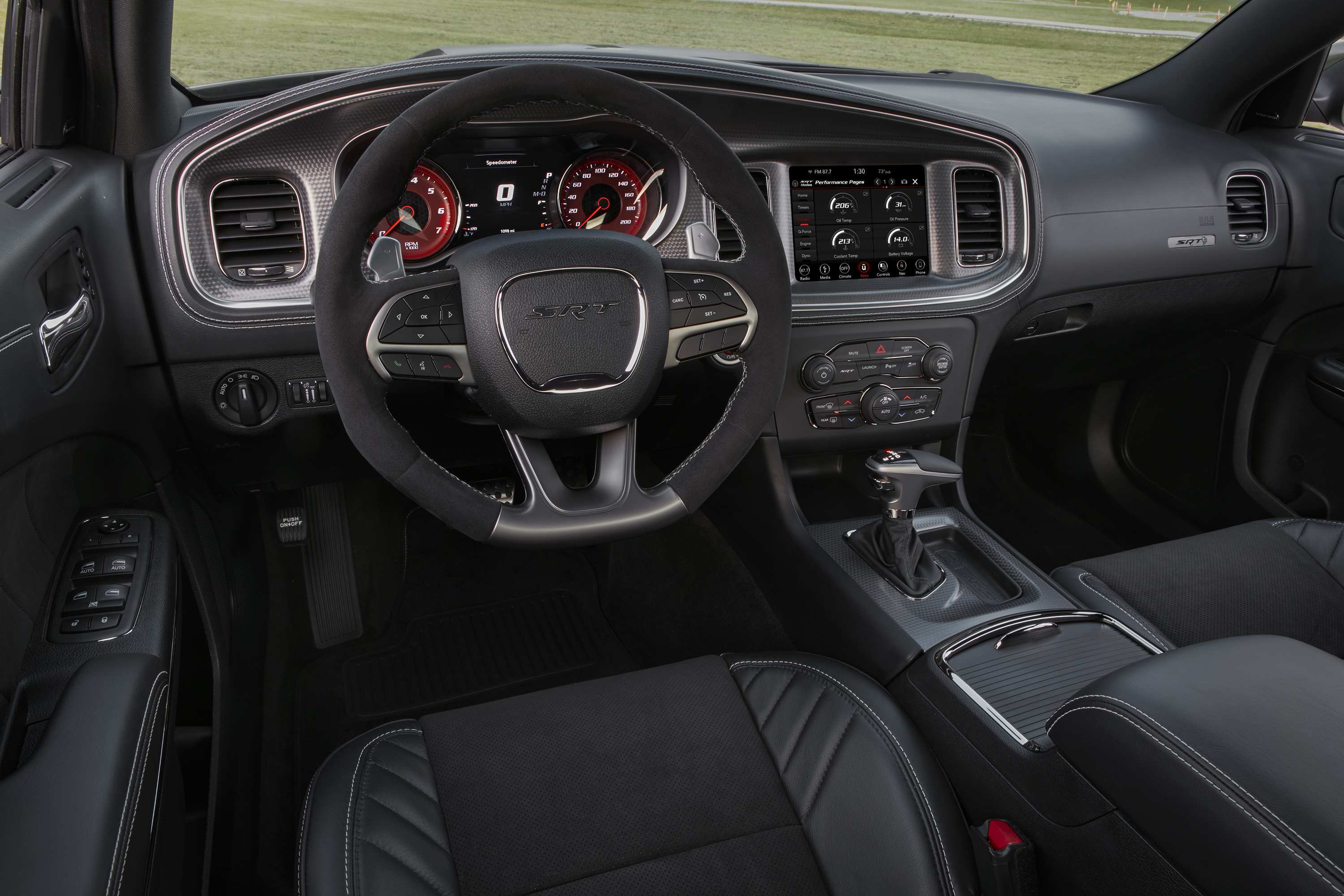 27 The 2020 Dodge Charger Interior Picture