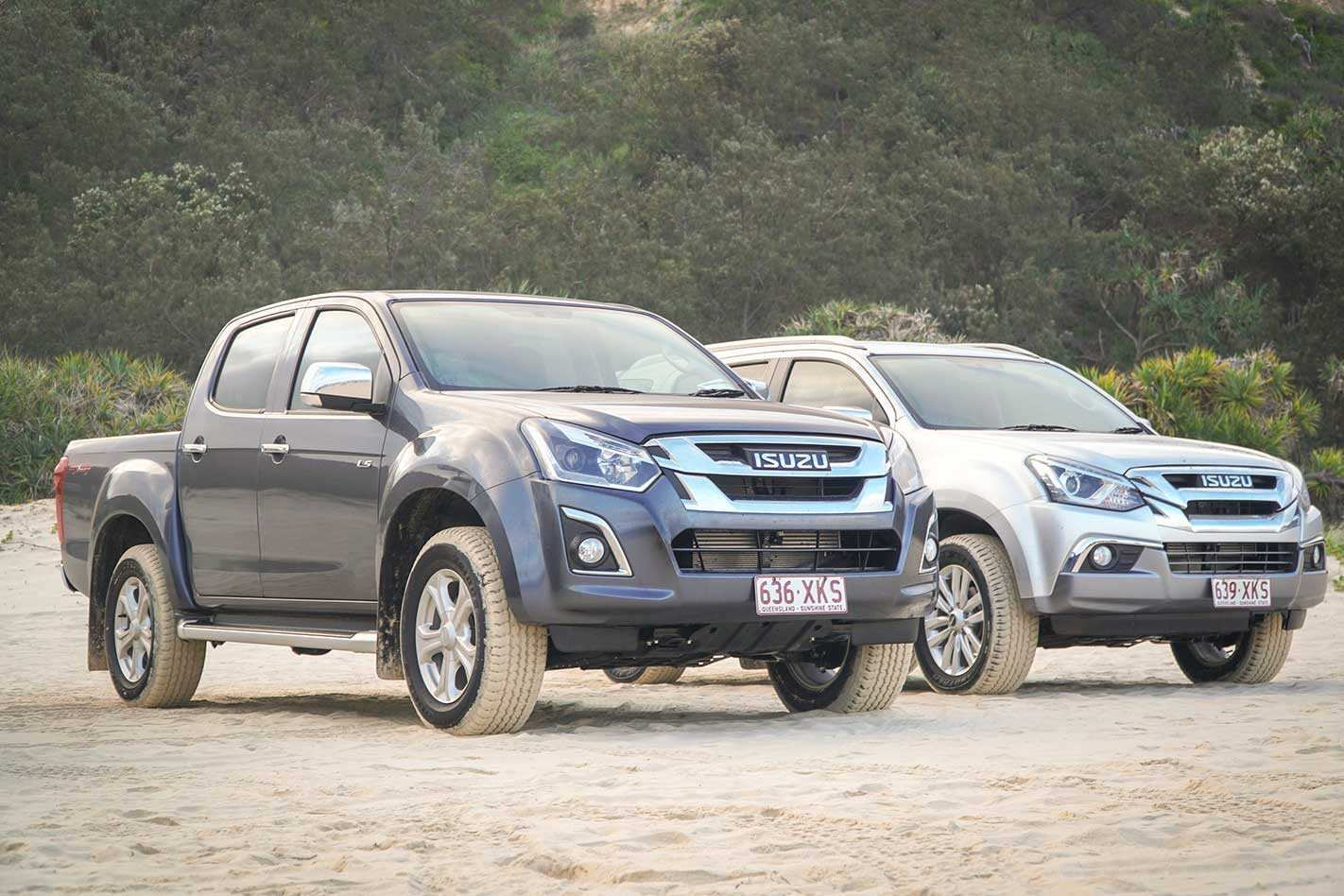 27 The 2020 Isuzu Dmax Wallpaper