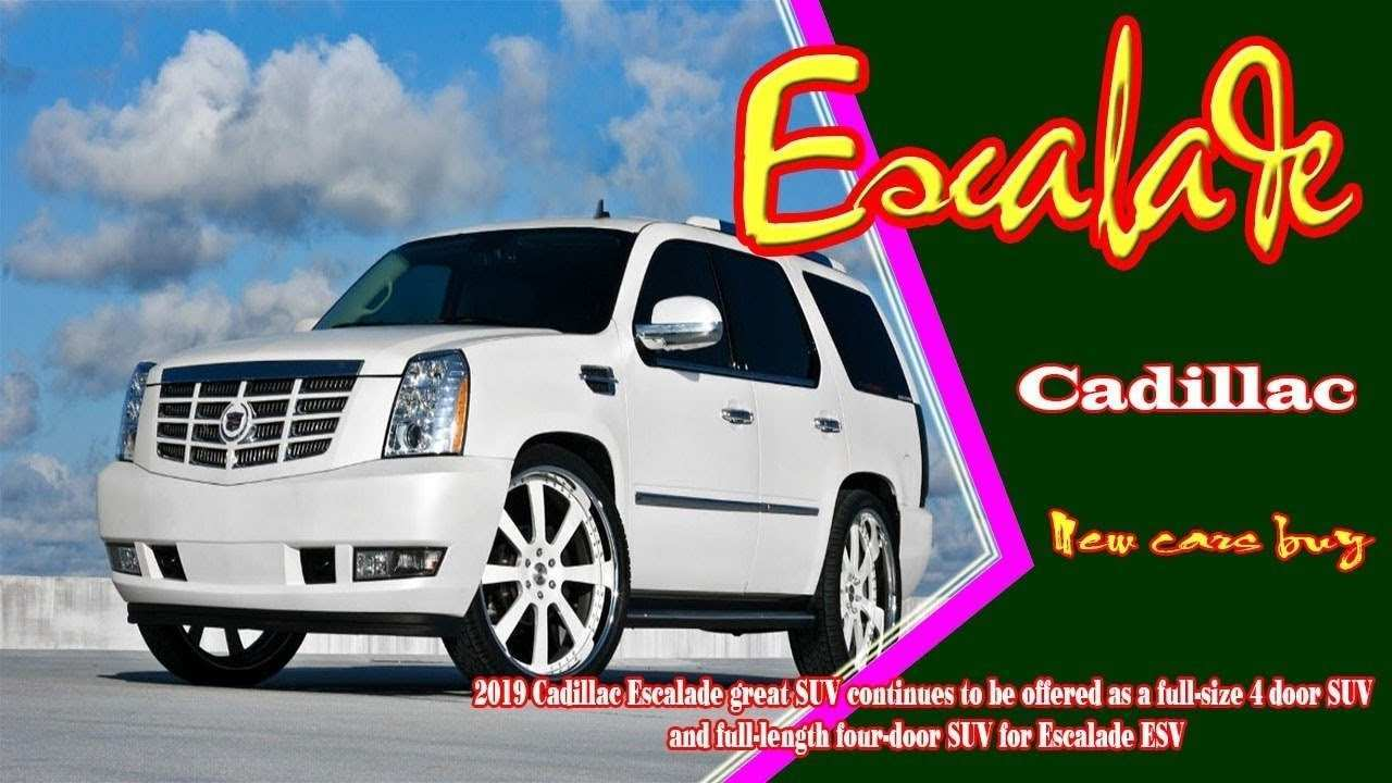 27 The Best 2019 Cadillac Escalade V Ext Esv Price And Review