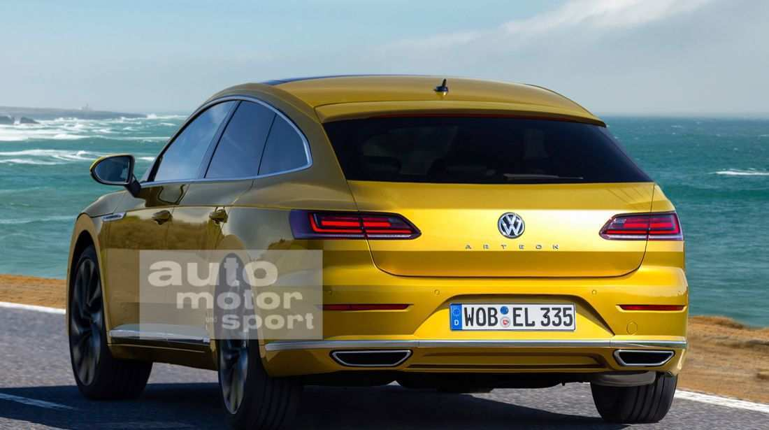 27 The Volkswagen Arteon R 2020 Research New