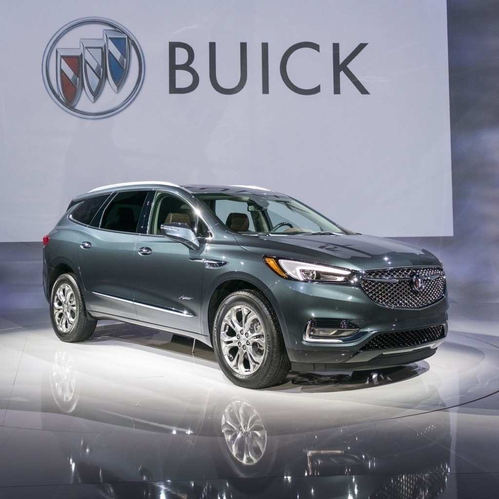 28 A 2019 Buick Enclave Spy Photos New Review