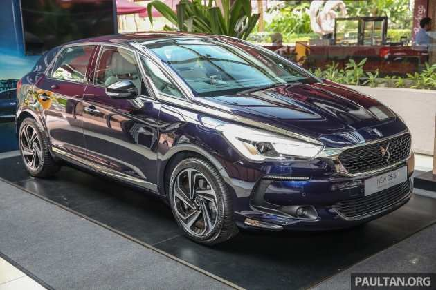 28 A 2019 Citroen DS5 Spesification