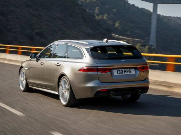 28 A 2019 Jaguar XF Model