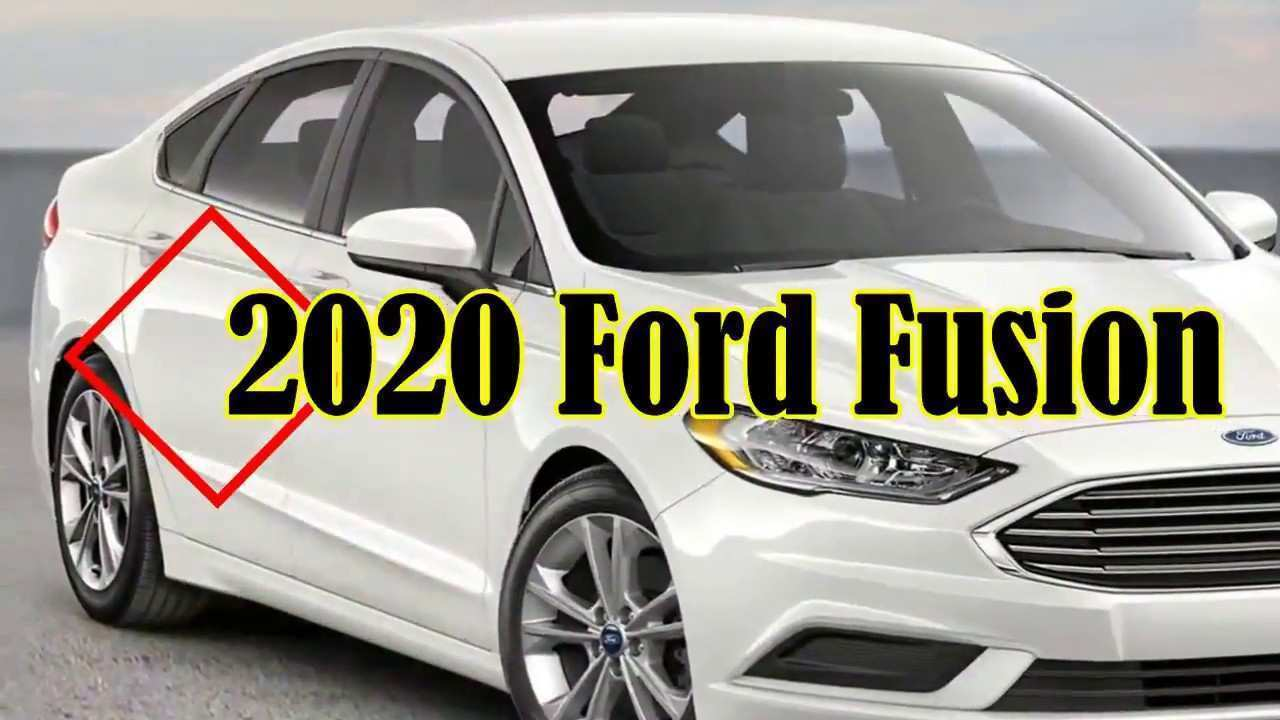 28 A 2020 Ford Fusion First Drive