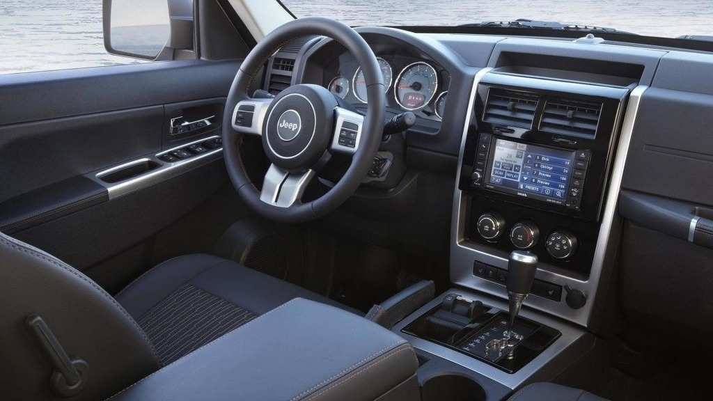 28 A 2020 Jeep Liberty Interior